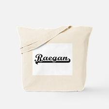 Raegan Classic Retro Name Design Tote Bag