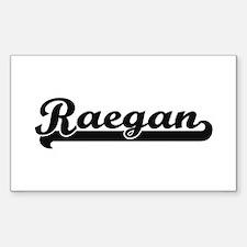 Raegan Classic Retro Name Design Decal