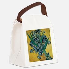 Irises by Vincent van Gogh Canvas Lunch Bag