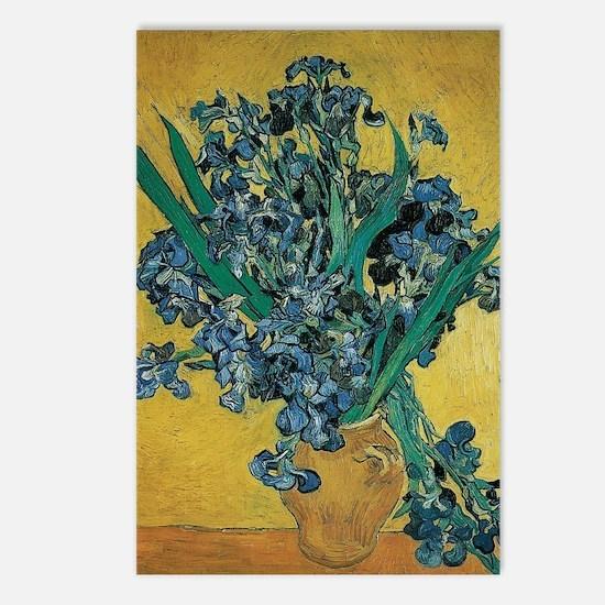 Irises by Vincent van Gog Postcards (Package of 8)