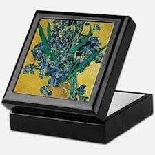 Irises by Vincent van Gogh Keepsake Box