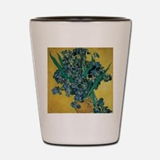 Irises by Vincent van Gogh Shot Glass