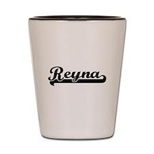 Reyna Classic Retro Name Design Shot Glass