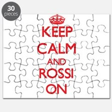 Keep Calm and Rossi ON Puzzle
