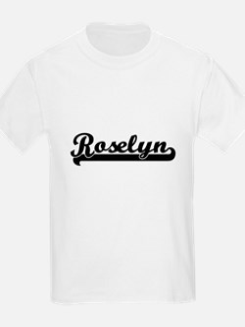 Roselyn Classic Retro Name Design T-Shirt