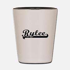 Rylee Classic Retro Name Design Shot Glass
