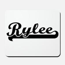 Rylee Classic Retro Name Design Mousepad