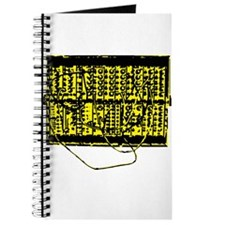 Modular Synth Yellow/Black Journal