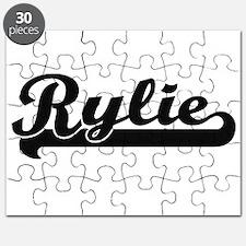 Rylie Classic Retro Name Design Puzzle
