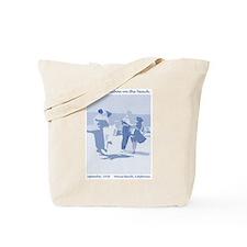 Venice Beach blue Tote Bag