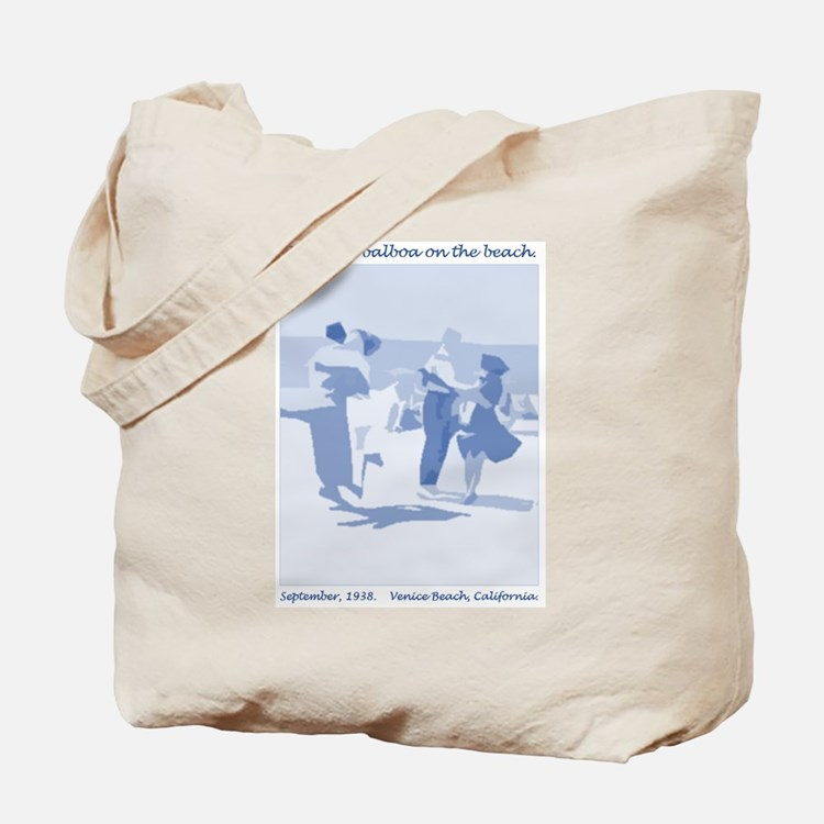 Venice Beach blue Tote Bag