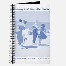 Venice Beach Blue Journal
