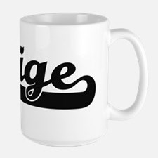 Saige Classic Retro Name Design Mugs