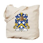 Solier Family Crest Tote Bag