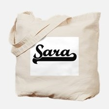 Sara Classic Retro Name Design Tote Bag