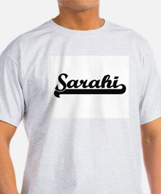 Sarahi Classic Retro Name Design T-Shirt