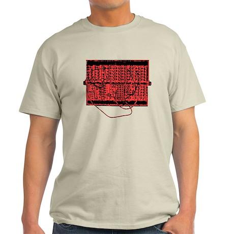 Modular Synth Red/Black Light T-Shirt