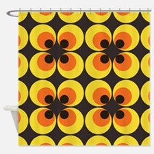 70s Wallpaper Shower Curtain