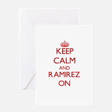Keep Calm and Ramirez ON Greeting Cards
