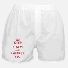 Keep Calm and Ramirez ON Boxer Shorts
