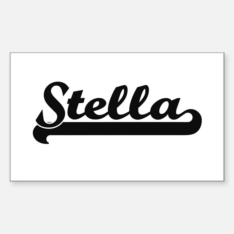 Stella Classic Retro Name Design Decal