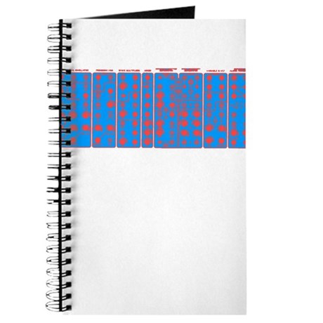 Modular Synth II Blue/Red Cle Journal