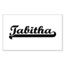 Tabitha Classic Retro Name Design Decal
