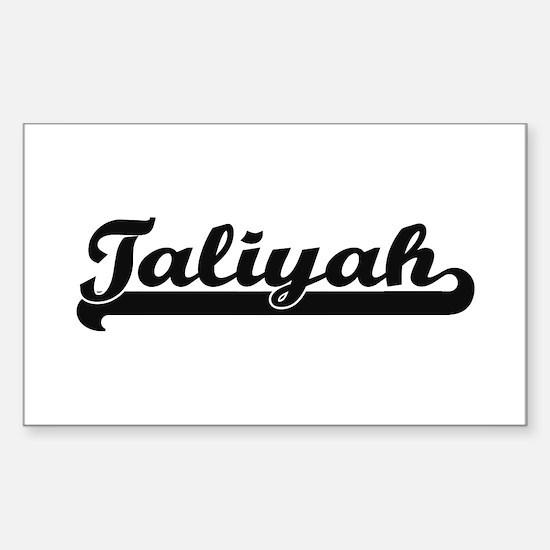 Taliyah Classic Retro Name Design Decal