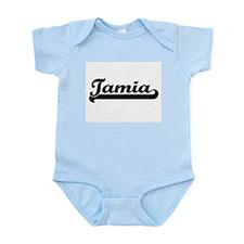 Tamia Classic Retro Name Design Body Suit