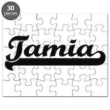 Tamia Classic Retro Name Design Puzzle
