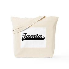Tamia Classic Retro Name Design Tote Bag