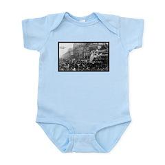 1907 Rex Mardi Gras Infant Creeper