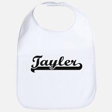 Tayler Classic Retro Name Design Bib