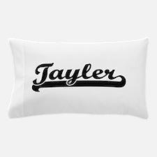Tayler Classic Retro Name Design Pillow Case