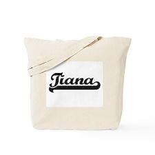 Tiana Classic Retro Name Design Tote Bag