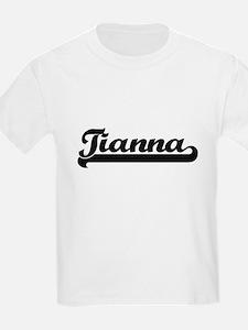 Tianna Classic Retro Name Design T-Shirt