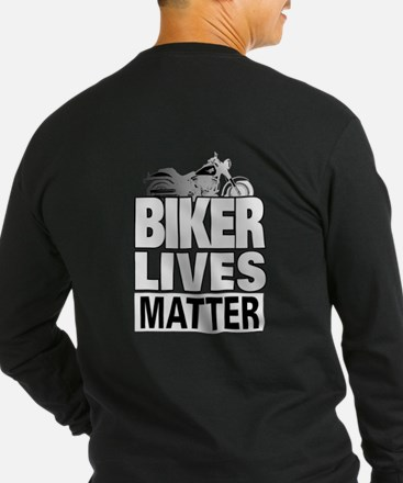 Biker Lives Matter Long Sleeve T-Shirt