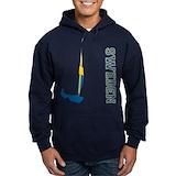 420 sailboat Hoodie (dark)