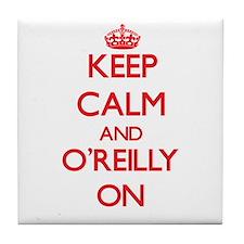 Keep Calm and O'Reilly ON Tile Coaster