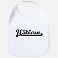 Willow Classic Retro Name Design Bib