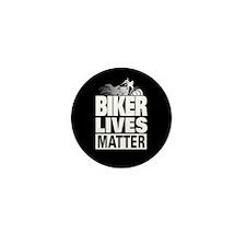 Biker Lives Matter Mini Button