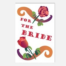 Vintage Victorian Bride Postcards (Package of 8)