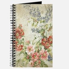 Beautiful Vintage Floral Journal