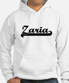 Zaria Classic Retro Name Design Hoodie Sweatshirt