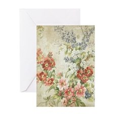 Beautiful Vintage Floral Greeting Cards