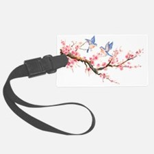 Watercolor pink cherry blossoms  Luggage Tag