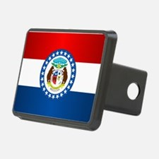 Missouri Flag Hitch Cover