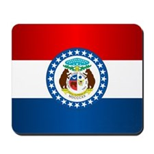 Missouri Flag Mousepad