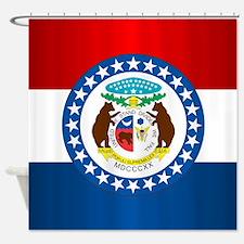 Missouri Flag Shower Curtain