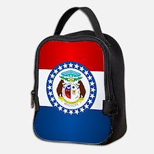 Missouri Flag Neoprene Lunch Bag